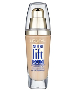 L'Oreal Nutri Lift Gold Anti-Aging Serum Foundation-Creamy Beige