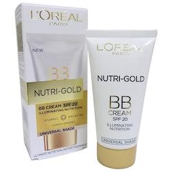 L'Oreal Nutri-Gold BB Cream SPF 20 Universal Shade 40ml