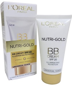 L'Oreal Nutri-Gold BB Cream SPF 20 Universal Shade 40ml