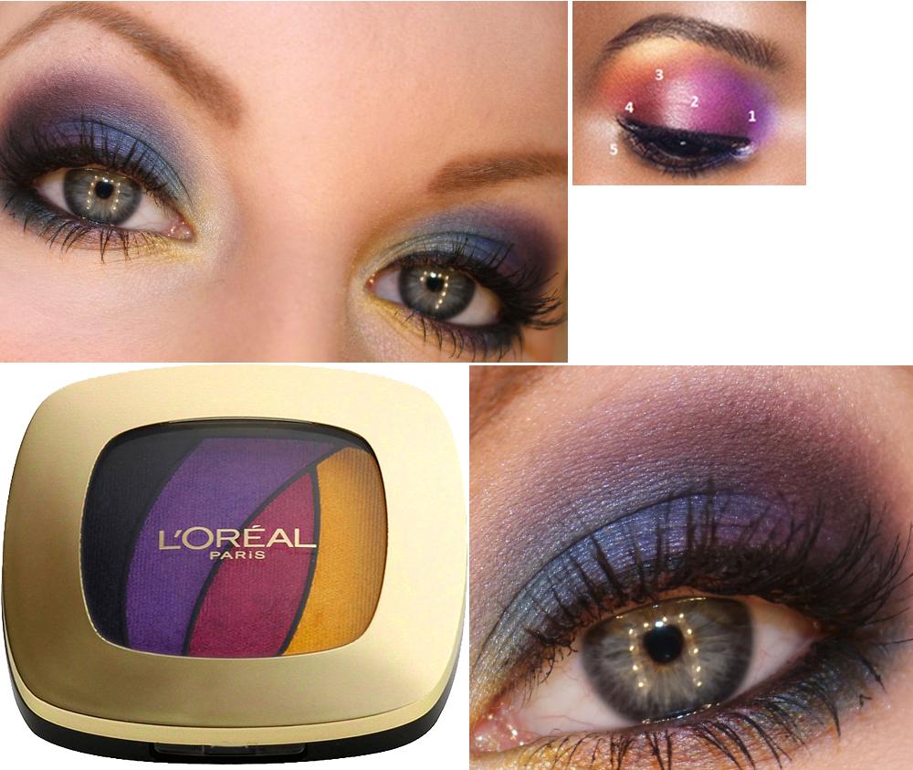 L'Oréal Paris Color Riche Quad Eye Shadow-S3 Disco Smoking