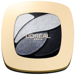 L Oréal  Color Riche Quad Eye Shadow-Smoky Velours Nior