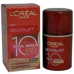 L'Oreal Revitalift Total Repair 10 SPF 20 BB Cream- Medium