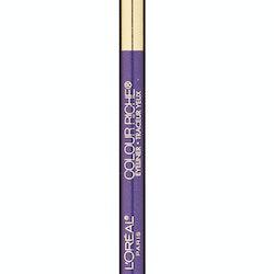 L'Oreal Riche Le Smoky Pencil Eye Liner & Smudger - 930 Violet