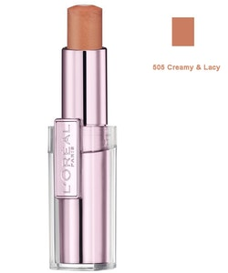 L'Oreal Rouge Caresse Lipstick - 505 Creamy & Lacy