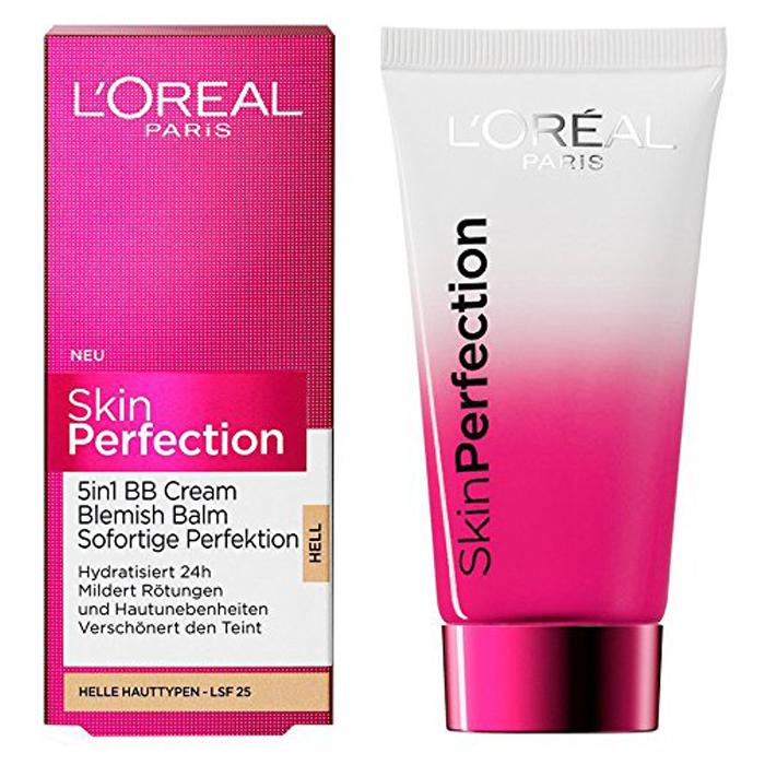 L'Oréal Skin Perfection BB Cream 5 in 1 Blemish Balm - Light