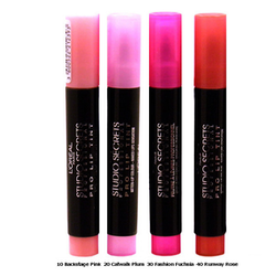 L'Oreal Studio Secrets Pro Lip Tint-Catwalk Plum