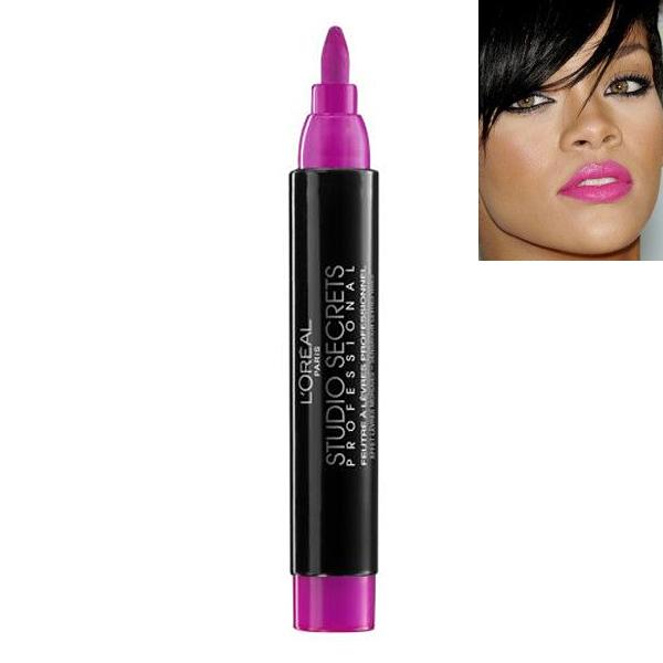 L'Oreal Studio Secrets Pro Lip Tint-Fashion Fuchsia
