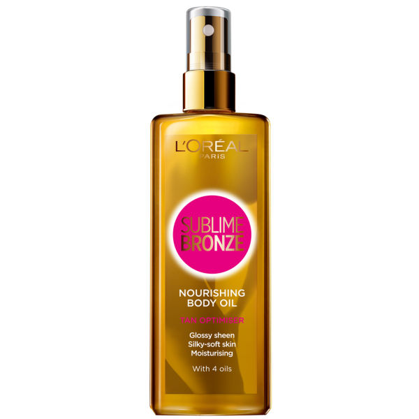 L'Oreal Sublime Bronze Nourishing Body Oil Tan Optimiser 150ml