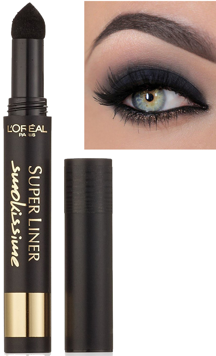 L'Oreal Super Liner Smokissime Powder Eyeliner Pen - Black Smoke