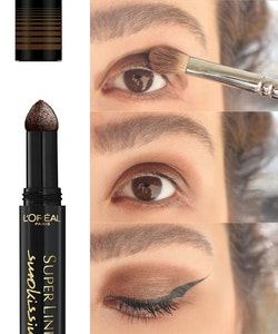 L'Oreal Super Liner Smokissime Powder Eyeliner Pen - Brown Smoke