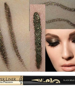 L'Oreal Super Liner Ultra Precision Liquid-Mat-Satin Effect - Black Gold