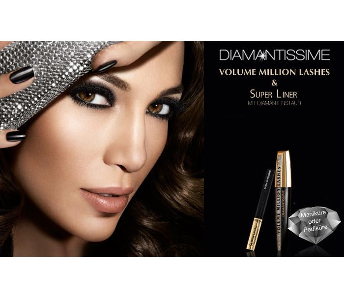 L'Oreal Volume Million Lashes Diamantissime Mascara - Black