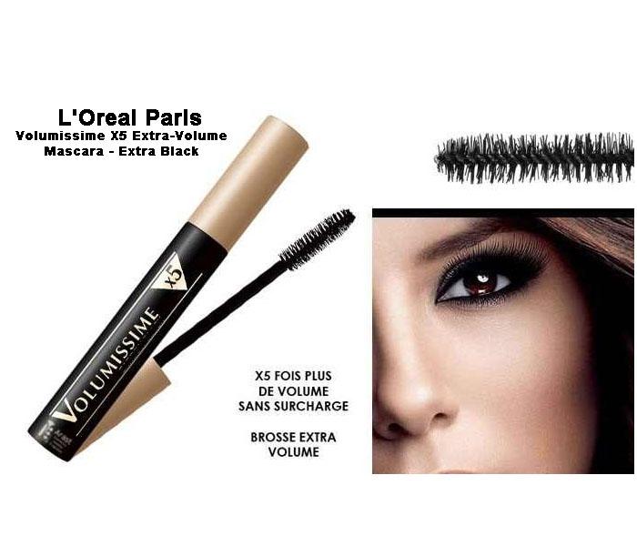 L'Oreal Volumissime X5 Extra-Volume Mascara - Extra Black