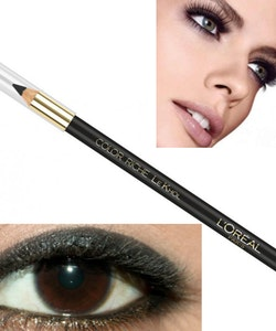 L'Oreal Color Riche Le Khol Eye Liner Pencil - Midnight Black