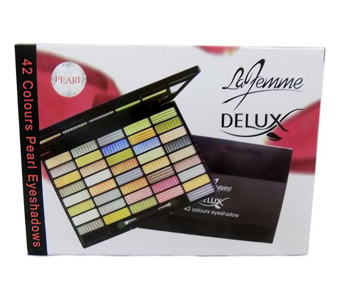 La Femme 42 Colours Pearl Eyeshadow Set NO.2