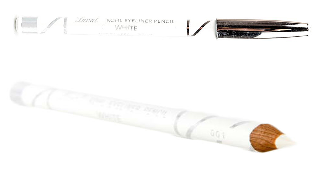 Laval Kohl Eyeliner Pencil-White