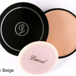Laval Pressed Creme Face Powder - Medium Beige