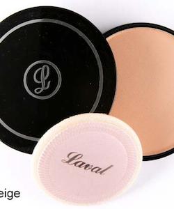 Laval Pressed Creme Face Powder - Medium Beige