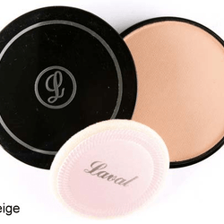 Laval Pressed Creme Face Powder - Soft Beige