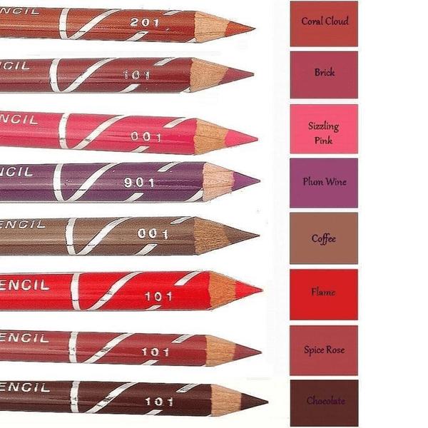 Laval Soft Lip Liner Pencil-Chocolate
