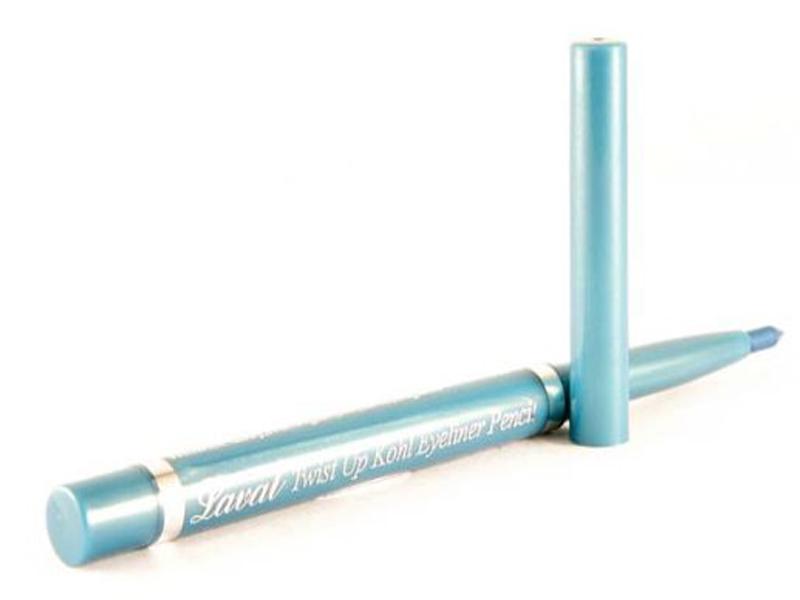 Laval Twist Up Khol WATERPROOF EYELINER Pencil -Light Blue