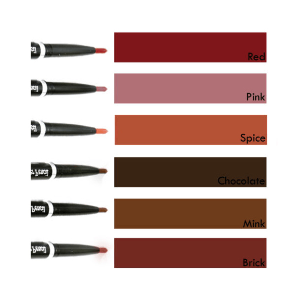 Laval Twist Up WATERPROOF LIP LINER Pencil-03 chocolate
