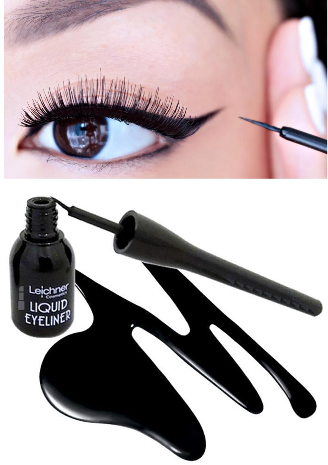 Leichner Precision & Definition Liquid Eyeliner - Black