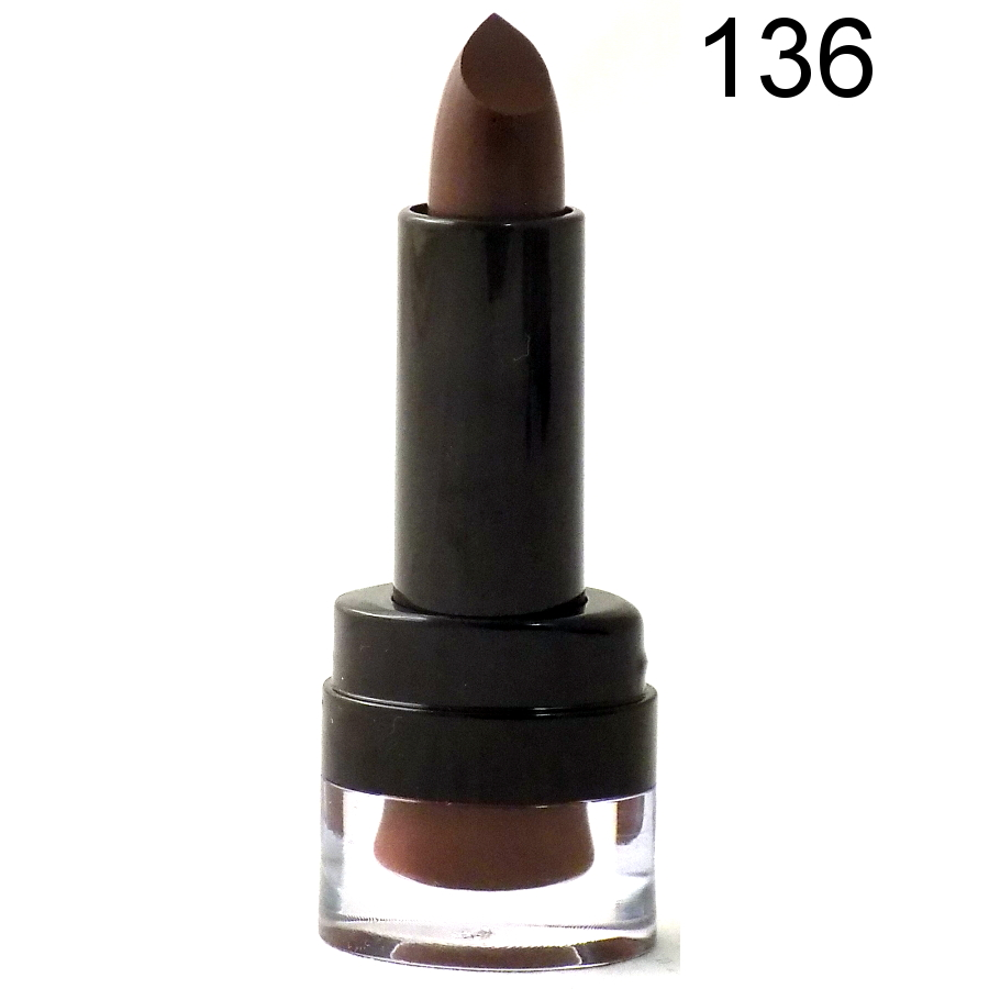 London Girl Long Lasting Satin Matte Lipstick -136 Coffee Time