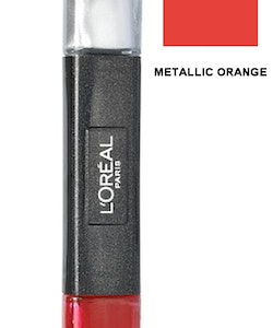 L Oreal Infallible Gel 2Step Metallix DUO Polish-27 METALLIC ORANGE