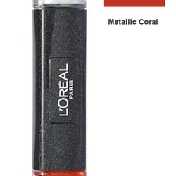 L Oreal Infallible Gel 2Step Metallix DUO Polish-28 Metallic Coral