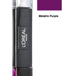L Oreal Infallible Gel 2Step Metallix DUO Polish-29 Metallic Purple