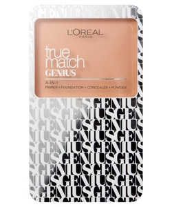 L Oreal True Match Genius 4-in-1 Cream to Powder Foundation-Rose Vanilla