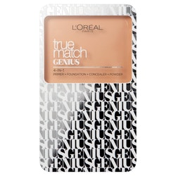 L Oreal True Match Genius 4-in-1 Cream to Powder Foundation-Sand