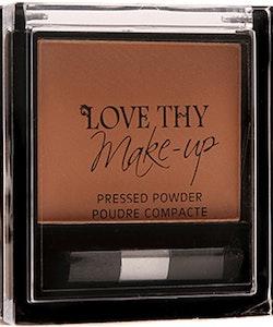 Love Thy Make Up London Pressed Powder-Chestnut