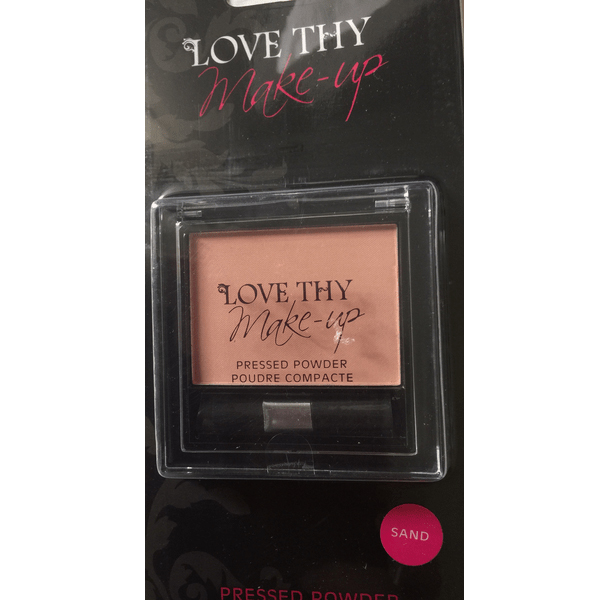 Love Thy Make Up London Pressed Powder-Sand