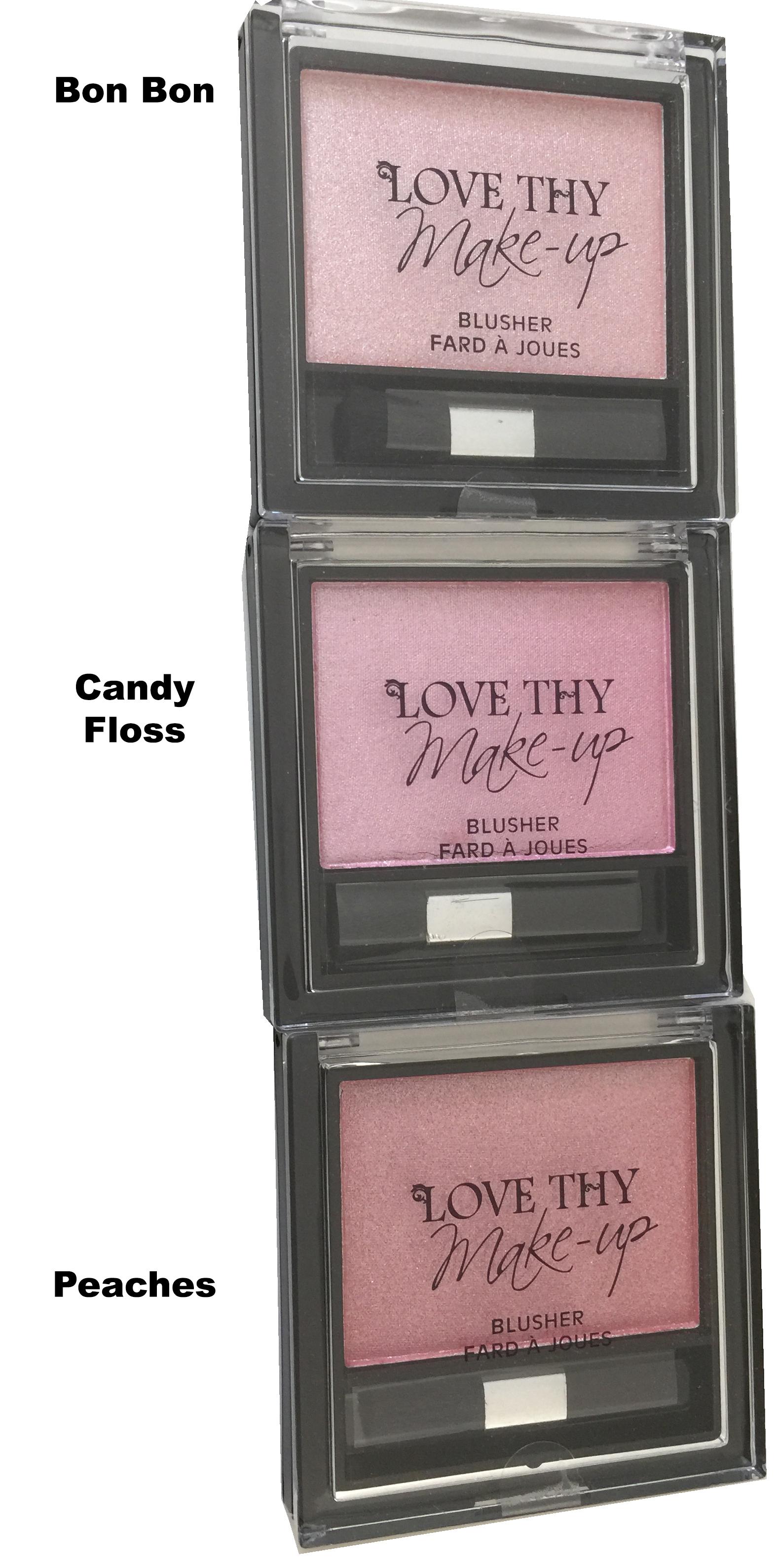 Love Thy Make-Up London Cruelty-Free Blush-Candy Floss