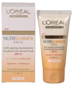 L Oreal Nutrisummer Face Anti-ageing kräm 50 ml