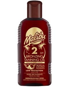 Malibu Bronzing Tanning Oil 200ml SPF 2