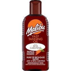 Malibu Fast Tanning Oil with Beta Carotene 200ml