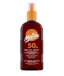Malibu High Protection Dry Oil Spray Waterproof 200ml SPF 50