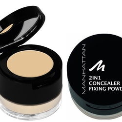 Manhattan 2 in 1 Concealer & Fixing Powder - Warm Honey