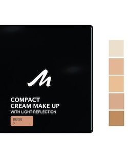Manhattan Compact Velvet Matt Cream Make Up-Beige