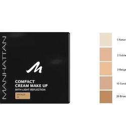 Manhattan Compact Velvet Matt Cream Make Up - 20 Bronze