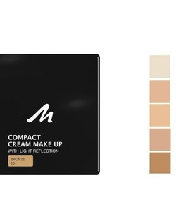 Manhattan Compact Velvet Matt Cream Make Up - 20 Bronze