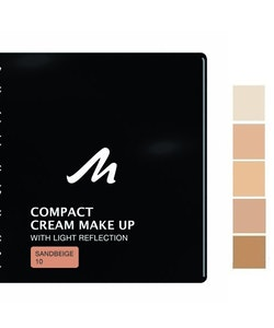 Manhattan Compact Velvet Matt Cream Make Up - Sandbeige