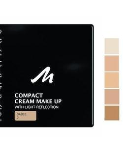 Manhattan Compact Velvet Matt Cream Make Up--02 Sable