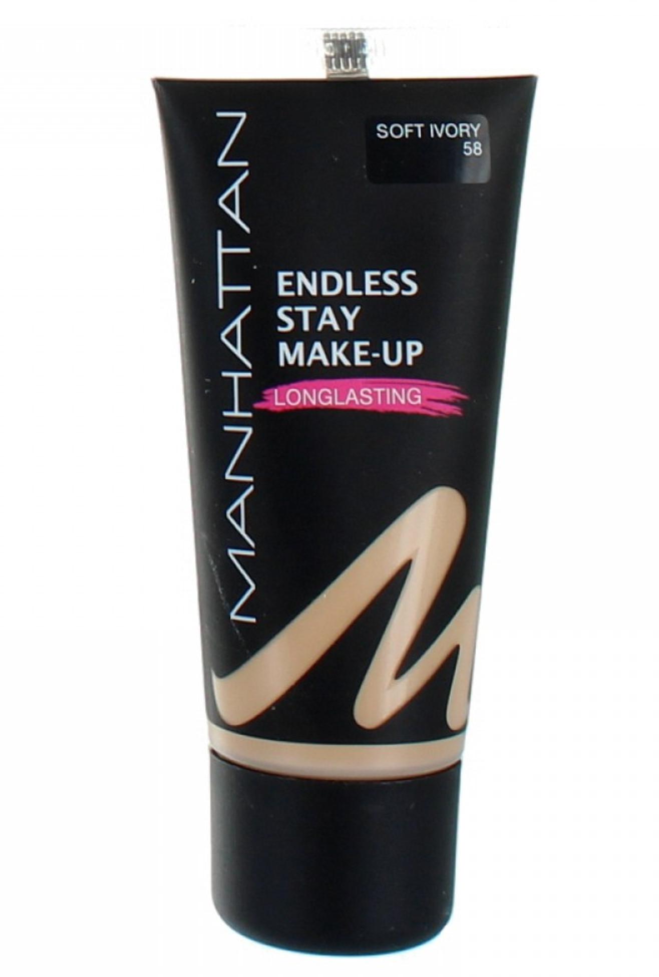 Manhattan Endless Stay Make-Up Foundation - 58 Soft Ivory