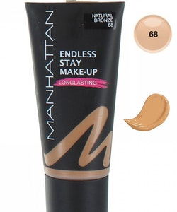 Manhattan Endless Stay Make-Up Foundation - 68 Natural Bronze