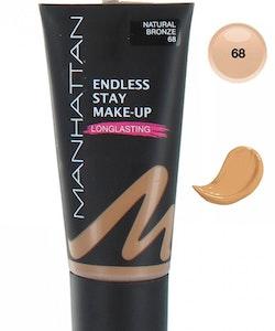 Manhattan Endless Stay Make-Up Foundation - 68 Natural Bronze