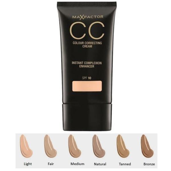 Max Factor CC Colour Correcting Cream SPF 10 -  85 Bronze